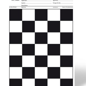 Купить Испытательные таблицы для определения укрывистости (TQC Sheen)