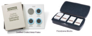 Купить Стандартные металлические пластины с покрытием и блоки (DeFelsko)